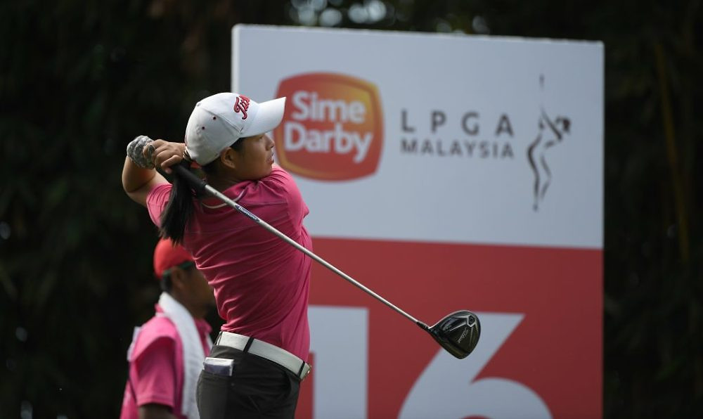 Winnie Ng of Malaysia in action during day three of the Sime Darby LPGA Malaysia at TPC Kuala Lumpur East Course on October 28, 2017 in Kuala Lumpur, Malaysia.Pic By Khalid Redza/IMG