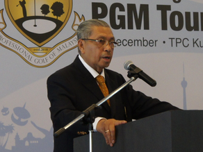 Golf Industry Mourns Passing of Tun Ahmad Sarji
