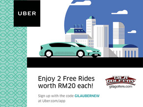 Get Your Free UBER Rides With GilaGolfers [CLOSED]