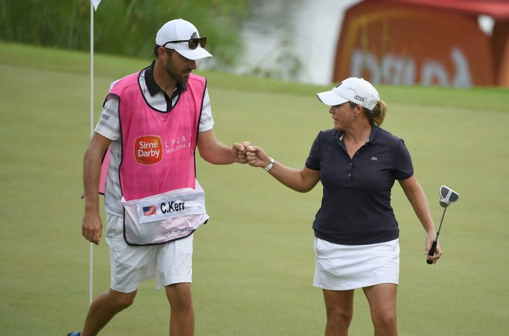Cristie Kerr of the United States in action during day three of the Sime Darby LPGA Malaysia at TPC Kuala Lumpur East Course on October 28, 2017 in Kuala Lumpur, Malaysia.Pic By Khalid Redza/IMG