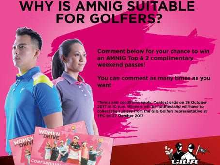 Why is AMNIG Suitable for golfers? (CLOSED)