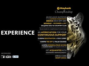 Maybank Championship Tee Party (4 December 2017)