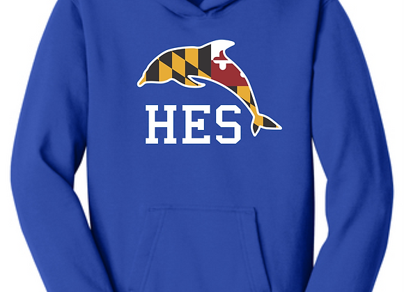 HES MD Youth Hoodie