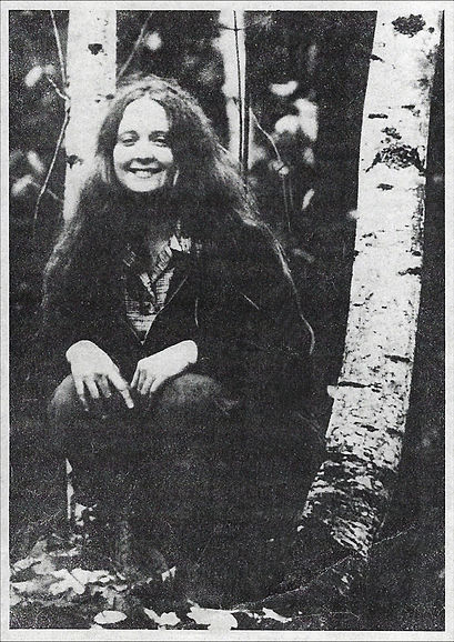 Annmarie Throckmorton in her twenties pl