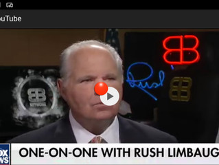 """Where are the feminists?"" brayed Rush Limbaugh with glee!"