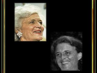 Frisked Then Allowed To Observe For Just A Few Moments. Former First Lady Barbara Bush, DOB 06-08-25