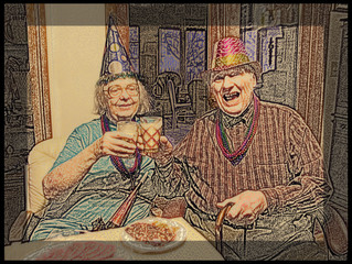 My Parents Have A Happy New Year