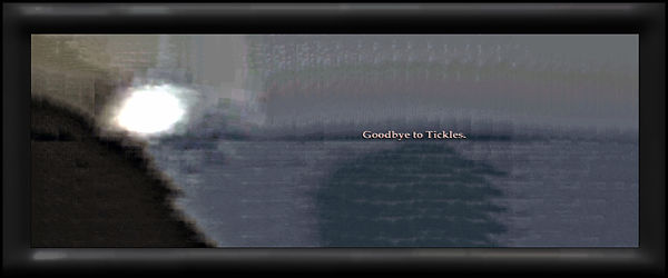 Goodbye To Tickles by Annmarie Throckmor