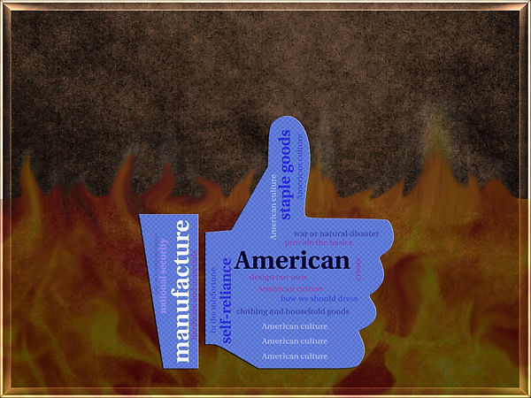 America Manufacturing Its Own Staple Goo