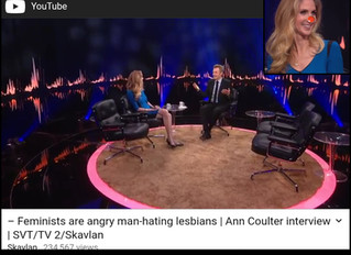 Ann Coulter Is Fifty-Six Years Old But Acts Much Younger