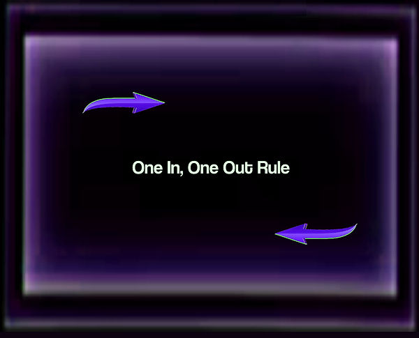 Rule Of One In-One Out by Annmarie Throc