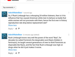 Rush Limbaugh Nazifies Feminists And Takes Down Civilization.