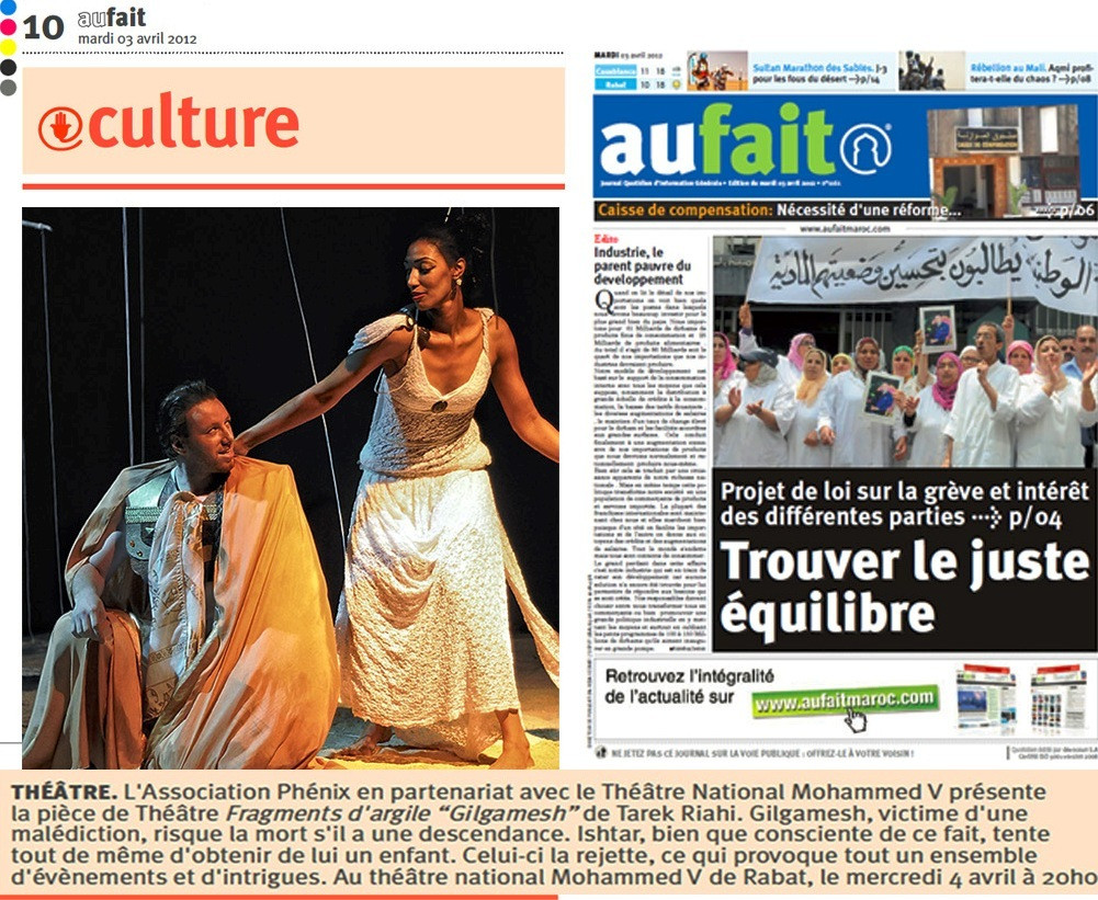 Au Fait - Newspaper