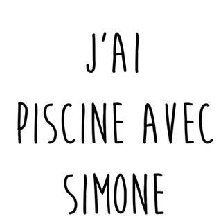 J'ai Piscine Avec Simone