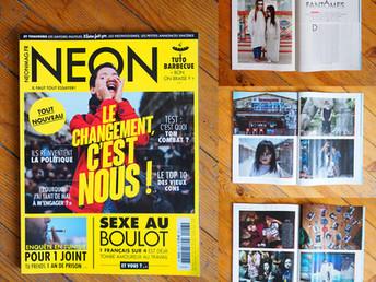 PUBLICATION | 6 pages dans Néon