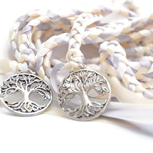 Silver Ivory Tree of Life Wedding Handfasting 6ft Cord #Wedding #WeddingCeremony