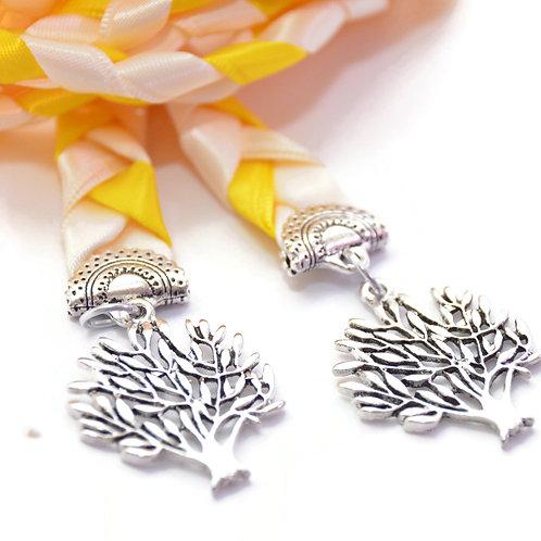 Divinity Braid Ivory Daffodil Tree of Life Wedding Handfasting Cord #Wedding