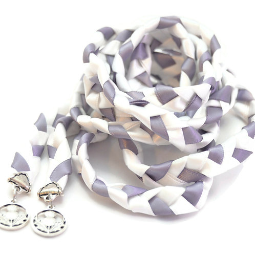 Scottish Thistle Wedding Handfasting Cord