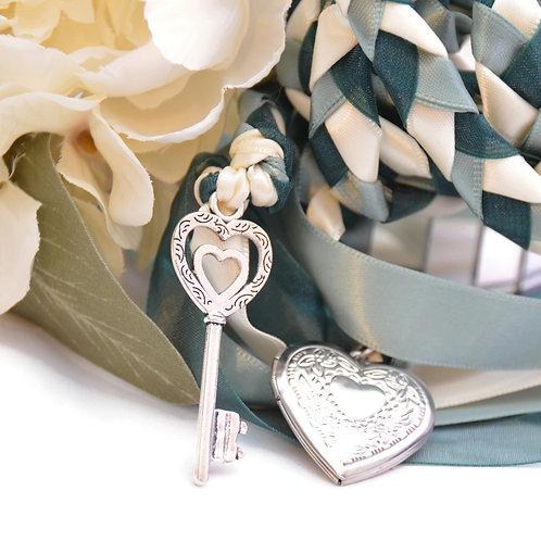 Forest Sage Key to Love Handfasting Cord #Wedding #Handfasting #KeyToLove