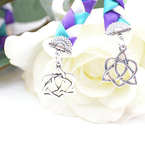 Divinity Braid Peacock Celtic Heart Knot Wedding Handfasting  #Wedding