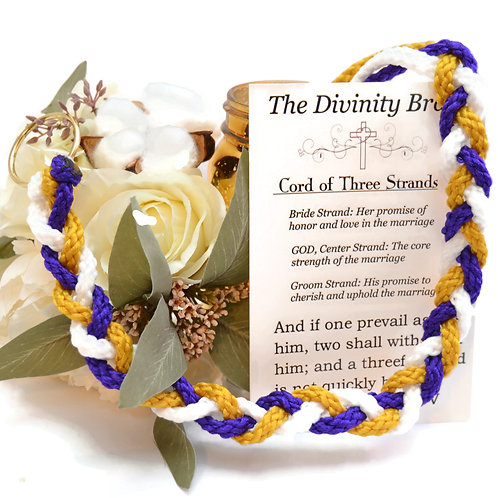 Divinity Braid TRADITIONAL SHORT Cord of Three Strands #Cordof3 #DivinityBraid