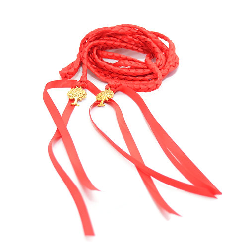 Red Purification Wedding Handfasting Cord #Wedding #Handfasting #TreeOfLife