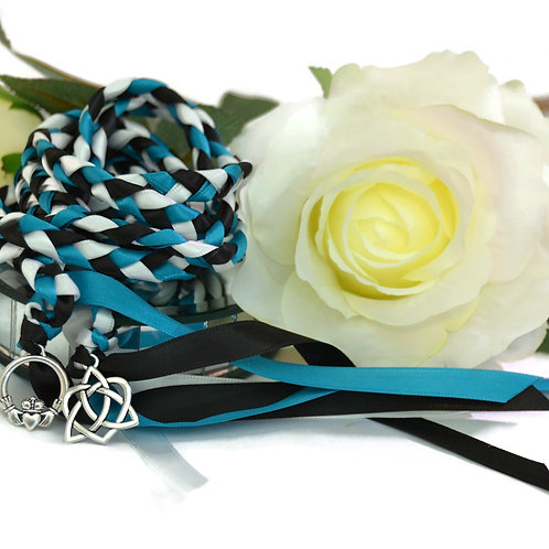 Turquoise Celtic Promise Handfasting V2 Cord #Wedding #Handfasting