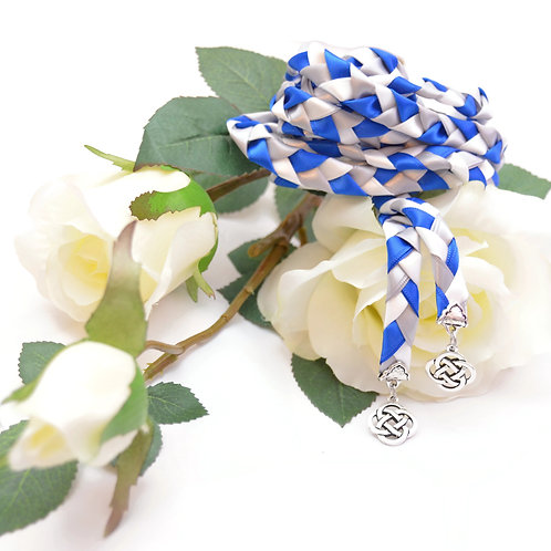 Royal Silver Celtic Wedding Handfasting Cord #Wedding