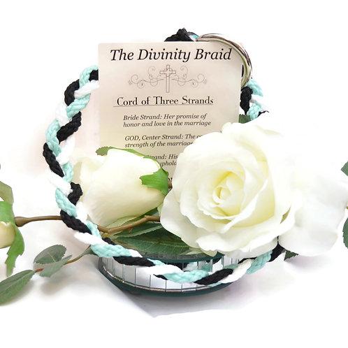 Divinity Braid Black Mint Cord Of Three Strands #DivinityBraid