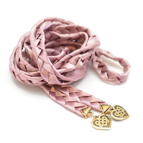 Ballet Celtic Heart Knot Wedding Handfasting Cord #handfasting #Celtic