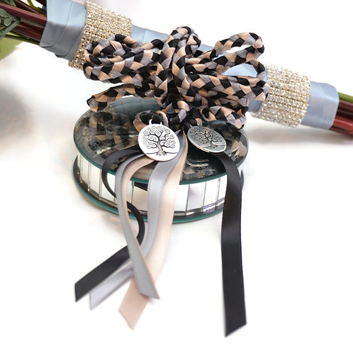 Divinity Braid Black Tree of Life Handfasting V2 Cord #Wedding #Handfasting