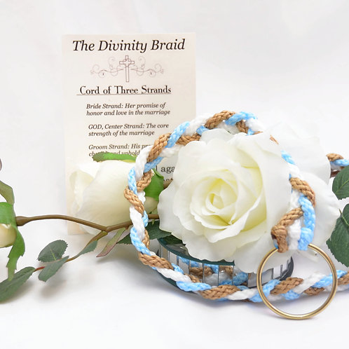 Divinity Braid Capri Tan Cord of Three Strands #Cordof3 #DivinityBraid