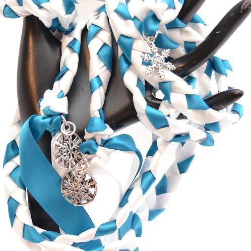 Limited Edition 5 charm Rhinestone Snowflake Tree Wedding Handfasti