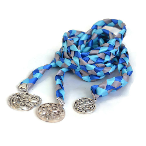 3 Charm Celtic Sun & Moon Wedding Handfasting 6ft Cord #Wedding #DivinityBraid
