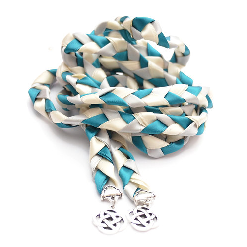 Divinity Braid Silver Oasis Celtic Knot Wedding Handfasting Cord
