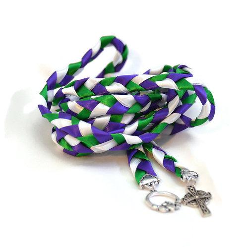 Divinity Braid Regal Purple Celtic Promise Wedding Handfasting Cord