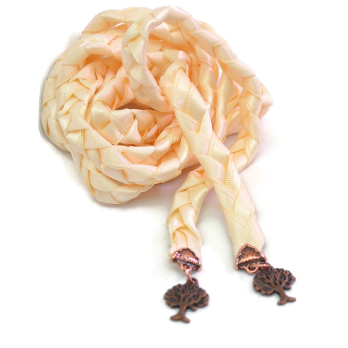 Ivory Copper  Purification Tree Of Life Handfasting V4 Cord