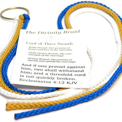 Divinity Braid The Cord of Three Strands Royal Gold #Cordof3 #DivinityBraid