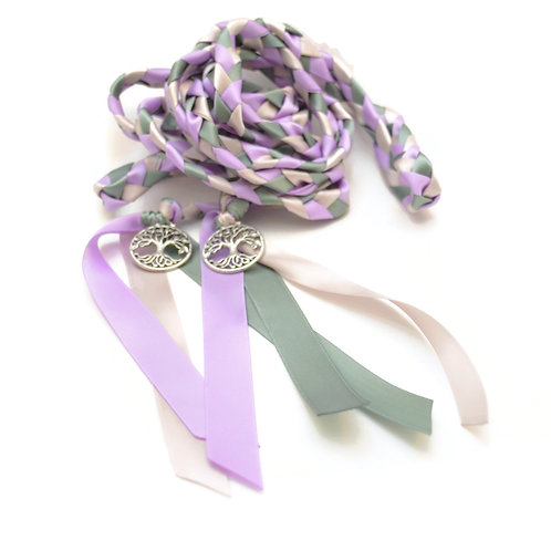 Lilac Sage Moss Elvish Tree of Life Wedding Handfasting 6ft Cord #Wedding #Wed