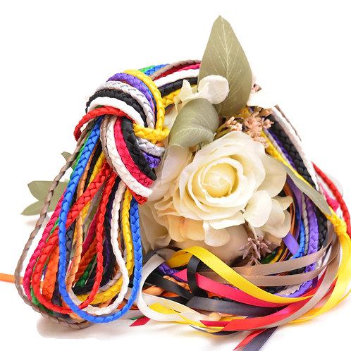 Divinity Braid 13 cord Handfasting set #HandfastingCord #Wedding