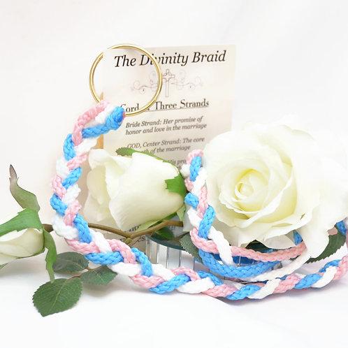 Divinity Braid Cord of Three Strands Tickled Malibu #Wedding
