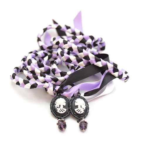 Divinity Braid Limited  Halloween Cameo Wedding Handfasting V13 Cord