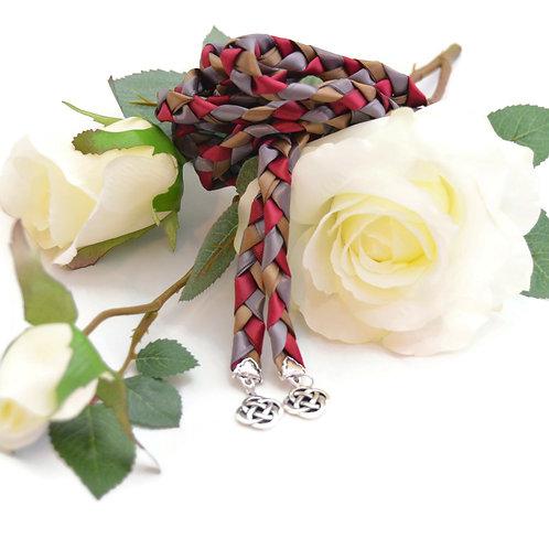 Divinity Braid Cafe Wine Celtic Knot Wedding Handfasting V4 Cord #Wedding