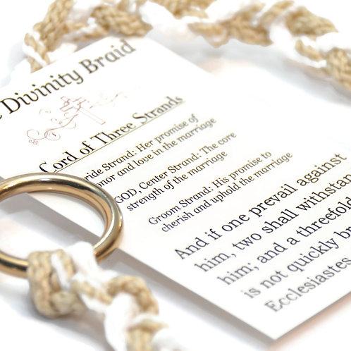 Cord of Three Strands ~ Pearl Blend #DivinityBraid #Wedding #Cordof3