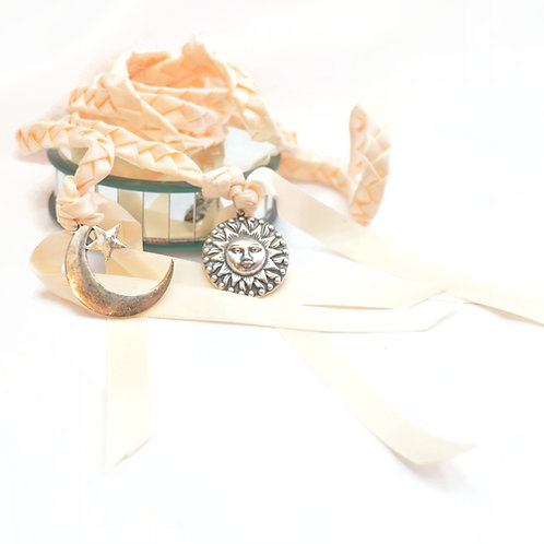 Divinity Braid Ivory Dream Sun &; Moon Wedding Handfasting Cord #Weddding
