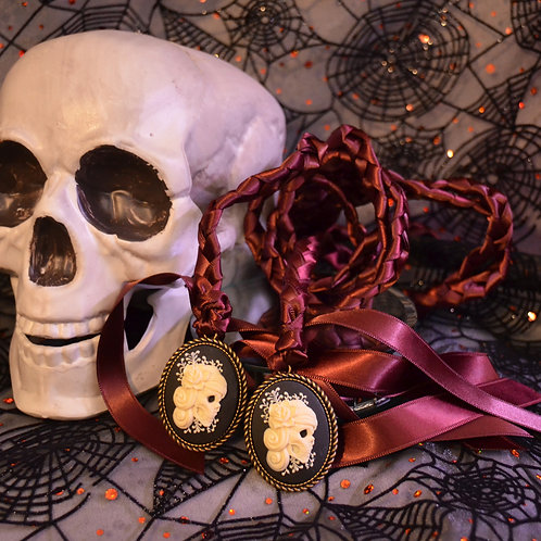 Divinity Braid Limited Day of The Dead Halloween Cameo Wedding Handfasting Cord