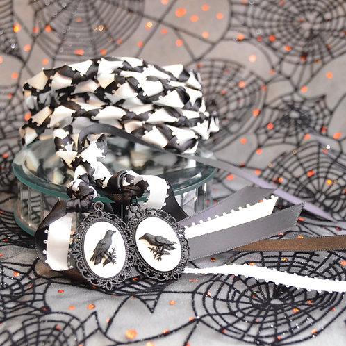 Divinity Braid Limited Raven Halloween Cameo Wedding Handfasting V1 Cord #Raven