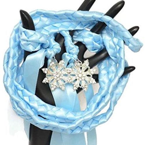 Limited Edition Rhinestone Snowflake Wedding Handfasting Cord