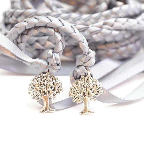Gunmetal Gray Tree Of Life Handfasting Cord #Wedding #Handfasting