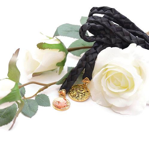 Black Sun Moon & Stars  Wedding Handfasting Cord #DivinityBraid #Handfastin